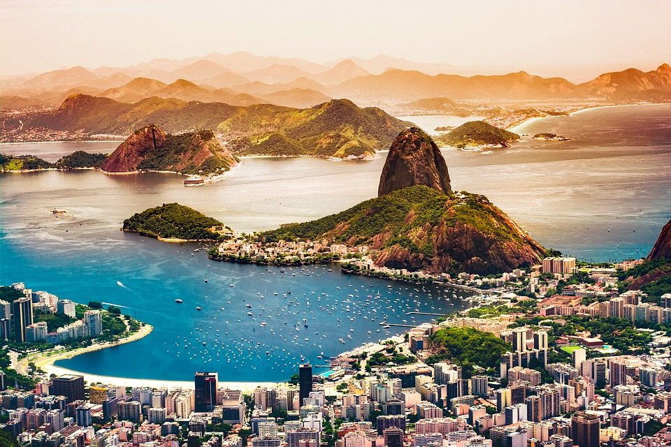 Spectacular Sugarloaf Mountain in Rio